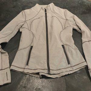 Lululemon striped Define Jacket